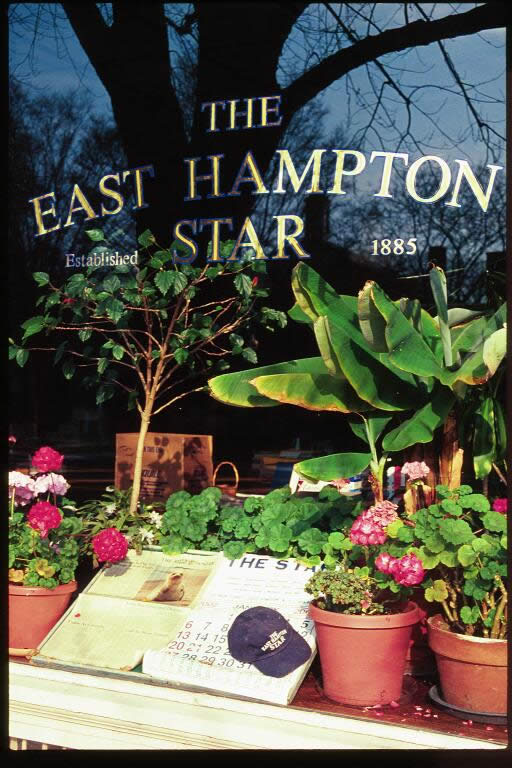 East Hampton Star Window