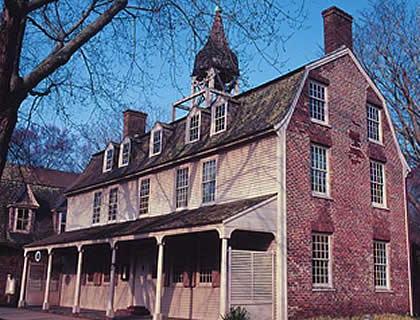 The Clinton Academy house
