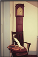 Chair and Clock in Clinton Academy